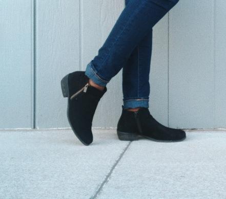 Wander My Way Black Suede Ankle Booties - Lulu*s